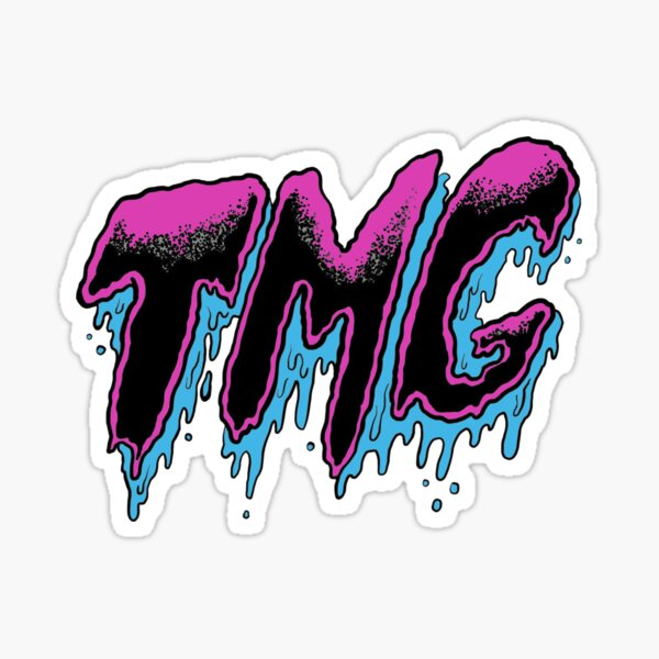 Tiny Meat Gang 'TMG' Pink Colorway   Sticker