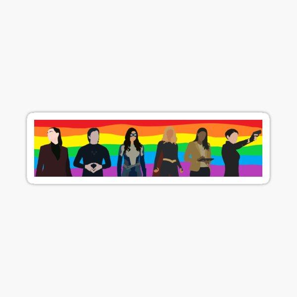 superfriends pride Sticker