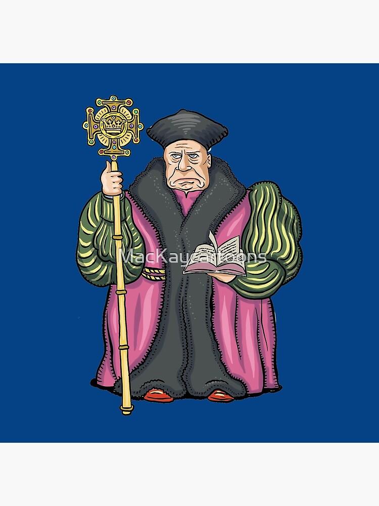 Thomas Cranmer by MacKaycartoons
