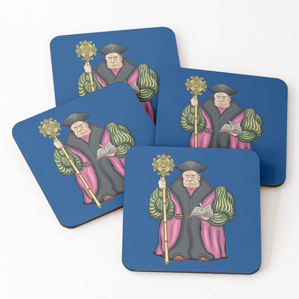 Thomas Cranmer Coasters (Set of 4)