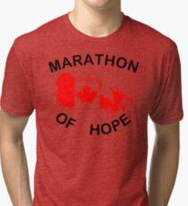 Marathon of Hope, 1980 Tri-blend T-Shirt