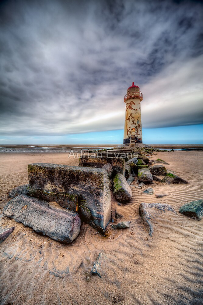 Welsh LightHouse by Adrian Evans
