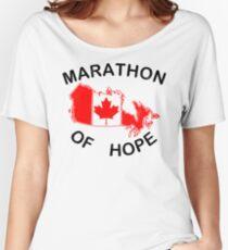 Marathon of Hope, 1980 v2 Women's Relaxed Fit T-Shirt