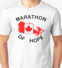 Marathon of Hope, 1980 v2 T-Shirt