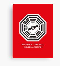 Station 9 - The Ball Canvas Print