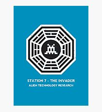 Station 7 - The Invader Photographic Print