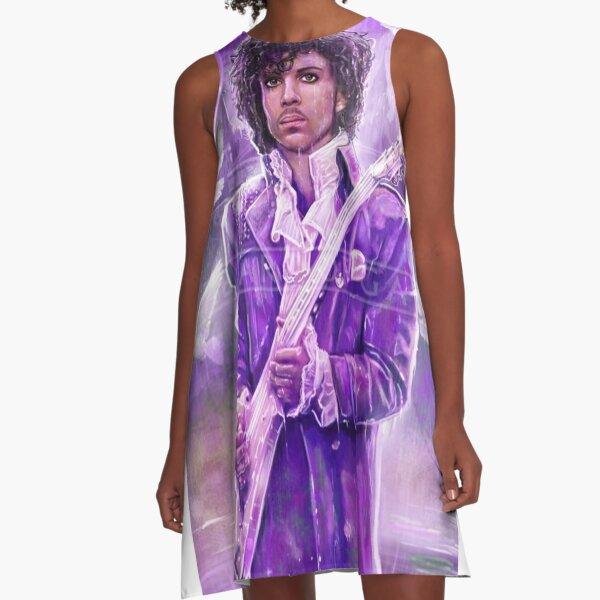 Prince Musician art A-Line Dress