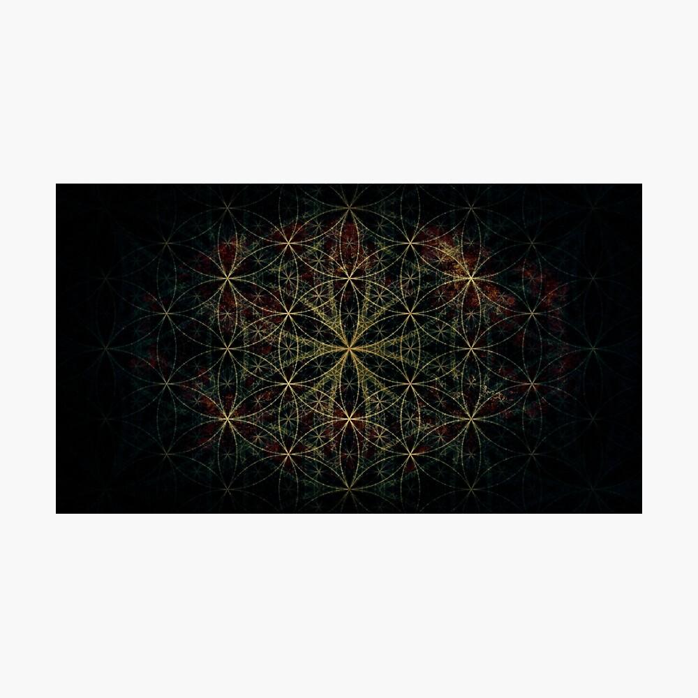 Heilige Blume des Lebens Fotodruck