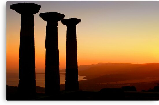 Temple Of Athena / ASSOS – Turkey by Kuzeytac
