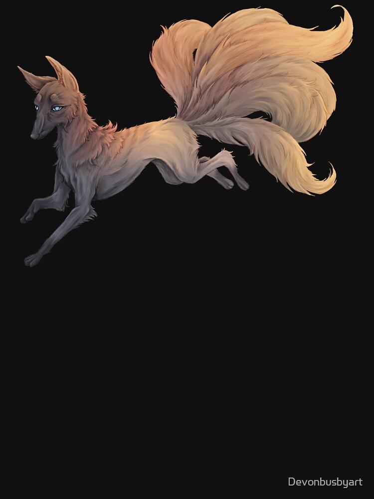 kitsune  by Devonbusbyart