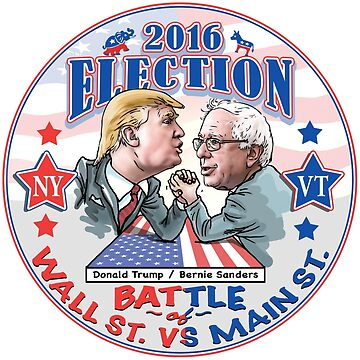 Bernie Sanders vs Donald Trump 2016 by Election2016
