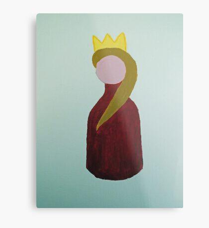 Red Queen Metal Print