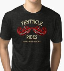 Tentacle Rides Tri-blend T-Shirt