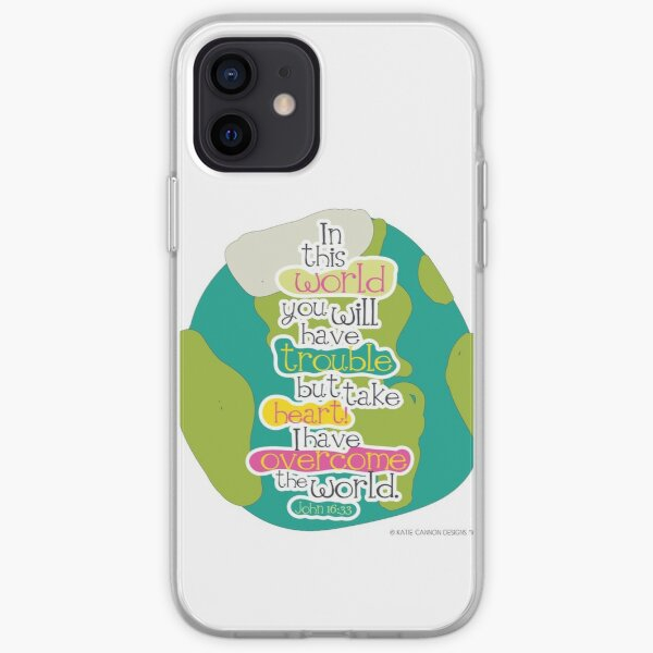 Overcome the Earth iPhone Soft Case