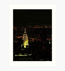 Chrysler Building (New York City, USA) Art Print