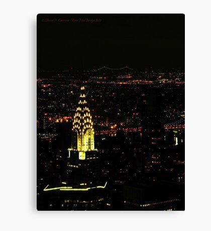 Chrysler Building (New York City, USA) Canvas Print