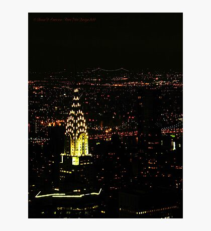 Chrysler Building (New York City, USA) Photographic Print