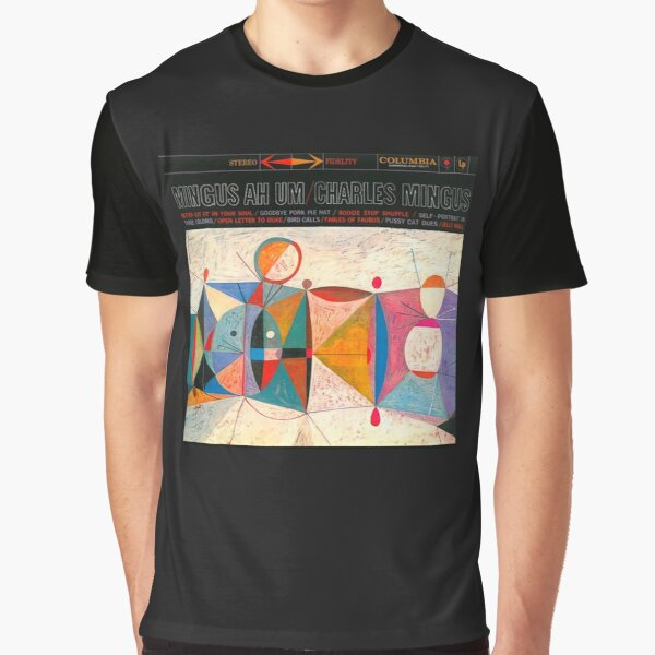 Charles Mingus - Ah Um Graphic T-Shirt