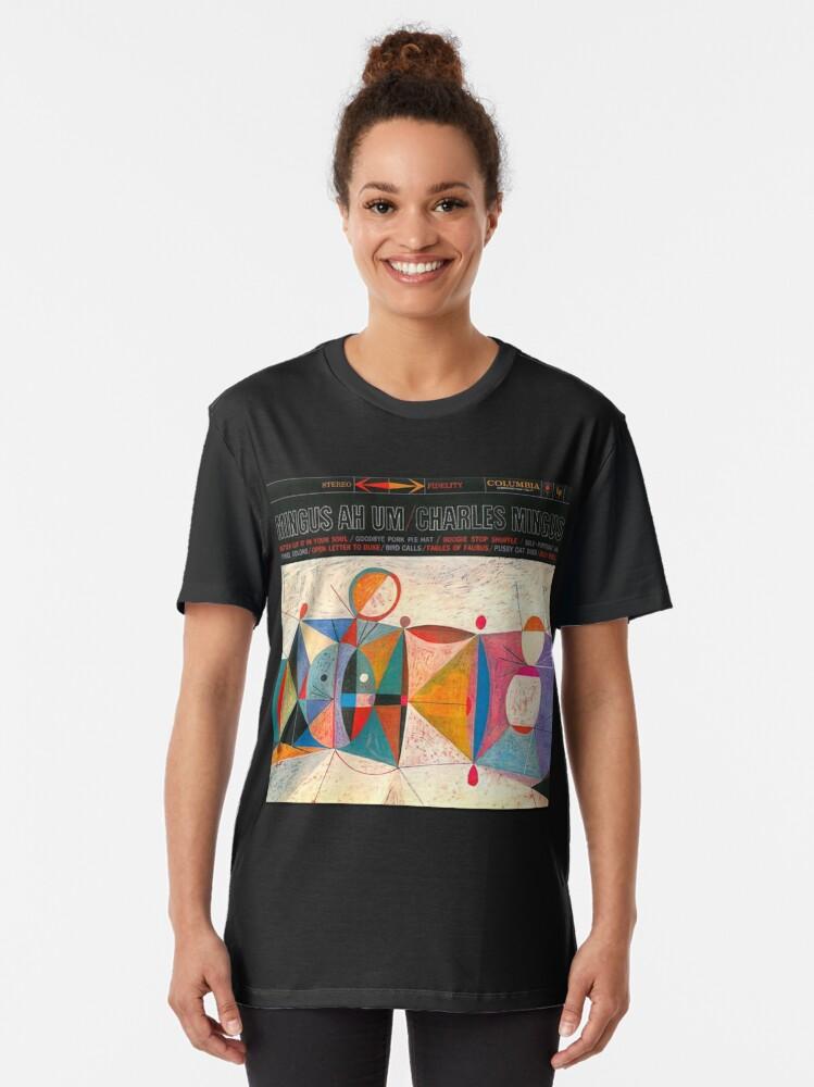 Vista alternativa de Camiseta gráfica Charles Mingus - Ah Um
