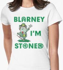 Irish Blarney I'm Stoned Womens Fitted T-Shirt