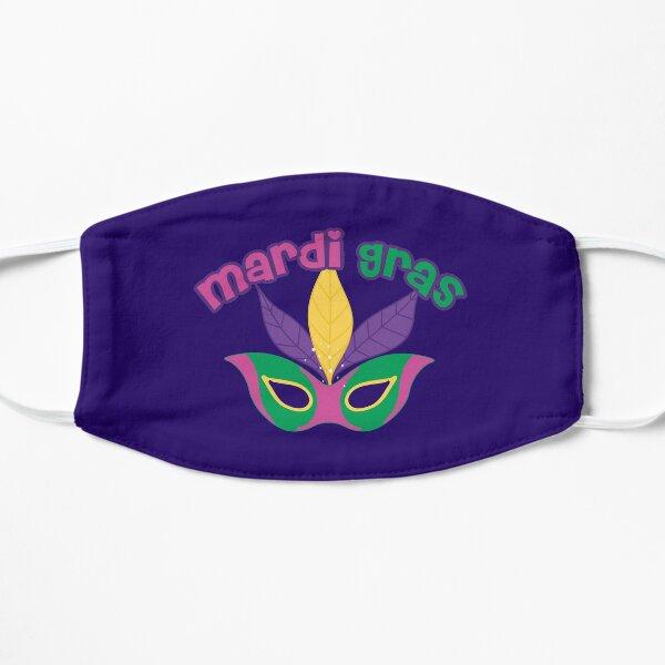 Mardi Gras Costume Mask Flat Mask