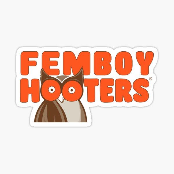 Femboy Hooters (New Logo) Sticker