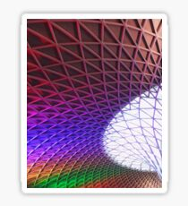 kings cross Sticker