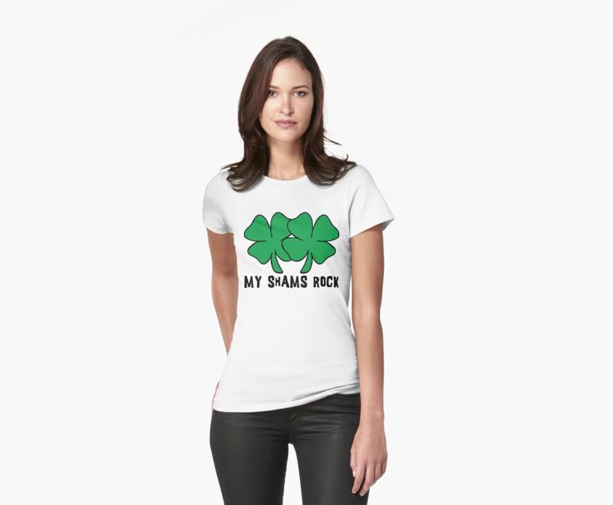 Funny Irish ShamRocks Women's by HolidayT-Shirts