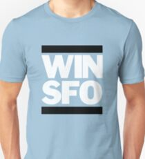 San Francisco Giants WIN SFO (adult size) Unisex T-Shirt