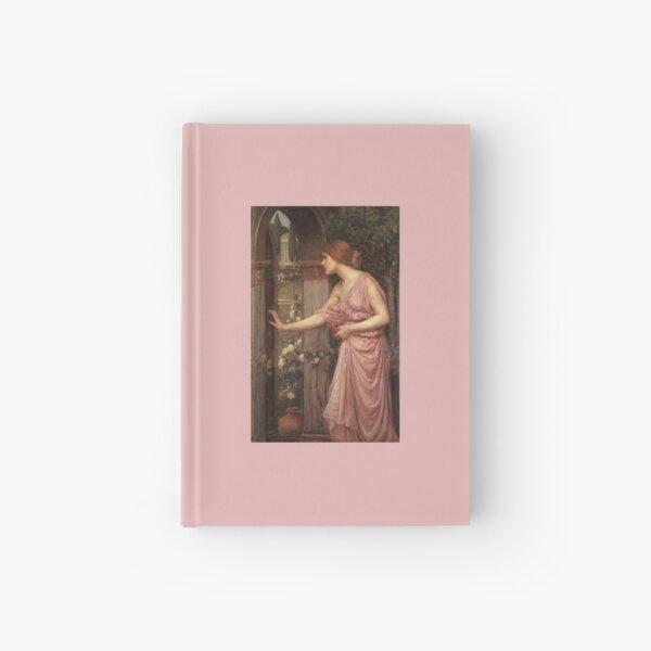 Psyche Entering Cupid's Garden - John William Waterhouse Hardcover Journal