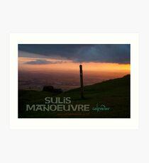 Sulis Manoeuvre calendar cover Art Print