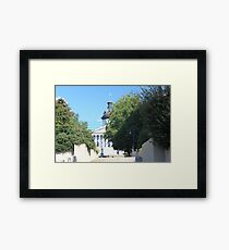 SC State House Framed Print