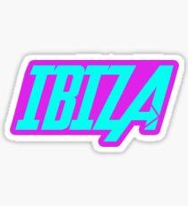 Ibiza Clubbing Sticker