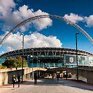 Wembley Stadium by Mattia  Bicchi Photography