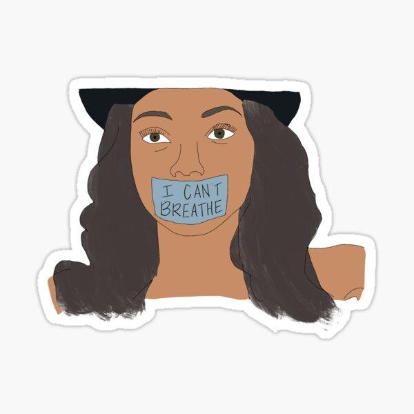 I Can't Breathe: Black Lives Matter Sticker