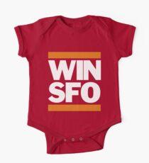 San Francisco Giants WIN SFO (kids size) One Piece - Short Sleeve
