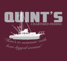Quint's Chartered Fishing | Unisex T-Shirt