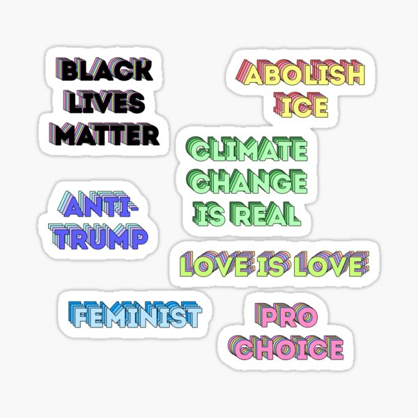 TRUMP 2020 STICKER LIBERALISM ANTI DEMOCRAT LIBERAL SNOWFLAKE DECAL BUMPER