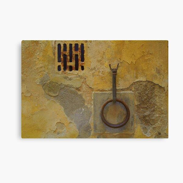Wall - Siena, Tuscany, Italy Canvas Print