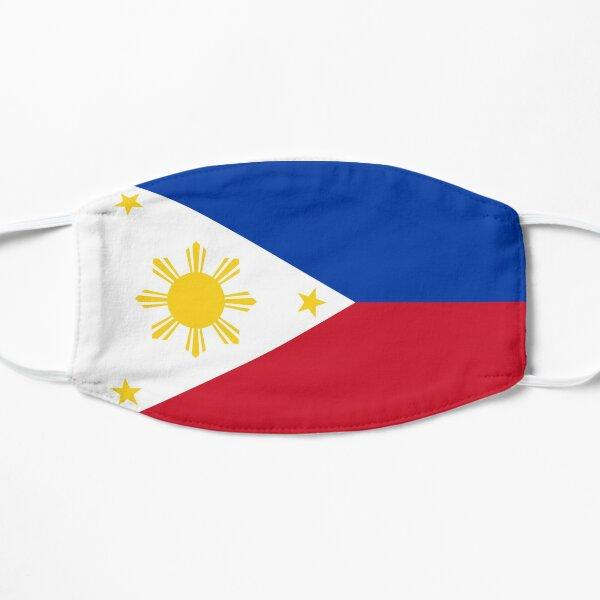 Philippines Flag Face Mask Flat Mask