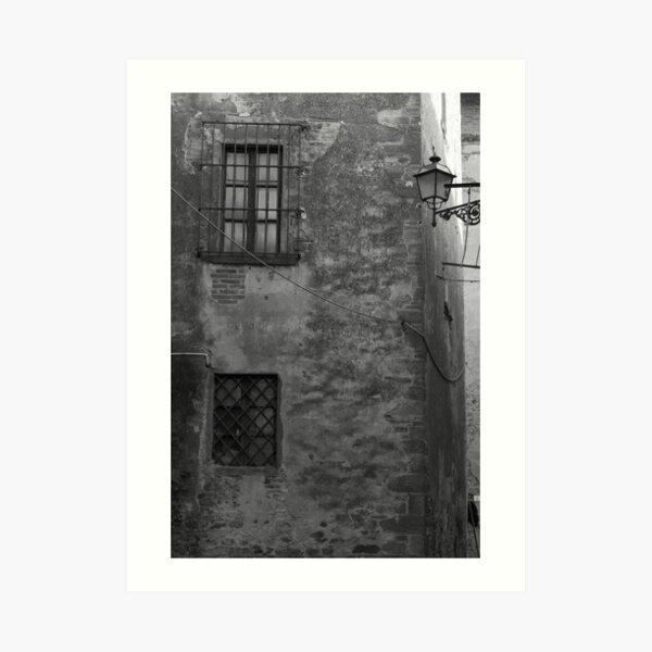 Castiglion Fibocchi, Windows Art Print