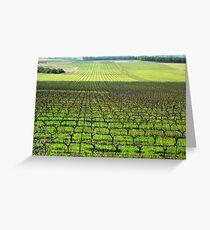 Ferngrove Vineyard # 2 Greeting Card