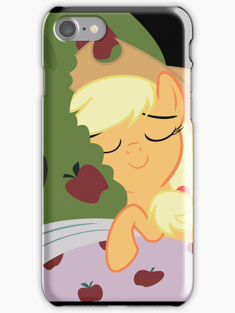 Applejack Tucks In Bloomburg  by PonyCases