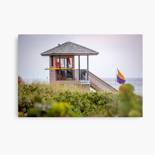 Delray Beach Lifeguard Stand Metal Print