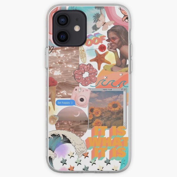 Summery VSCO Aesthetic Phone Case iPhone Soft Case