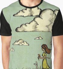 Girl Under the Clouds  Graphic T-Shirt