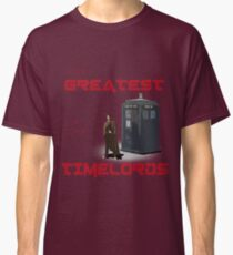 The Greatest Of The Timelords Classic T-Shirt