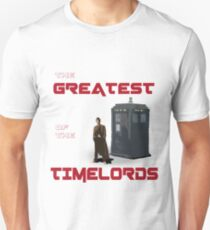 The Greatest Of The Timelords T-Shirt