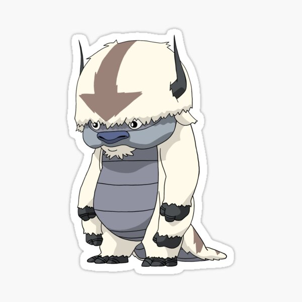 Standing Appa  Sticker