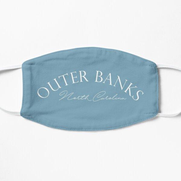 Outer Banks: North Carolina (white) Flat Mask